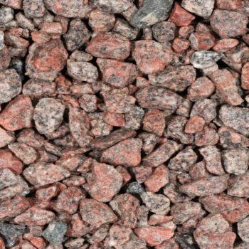 Granietsplit Rose Rood